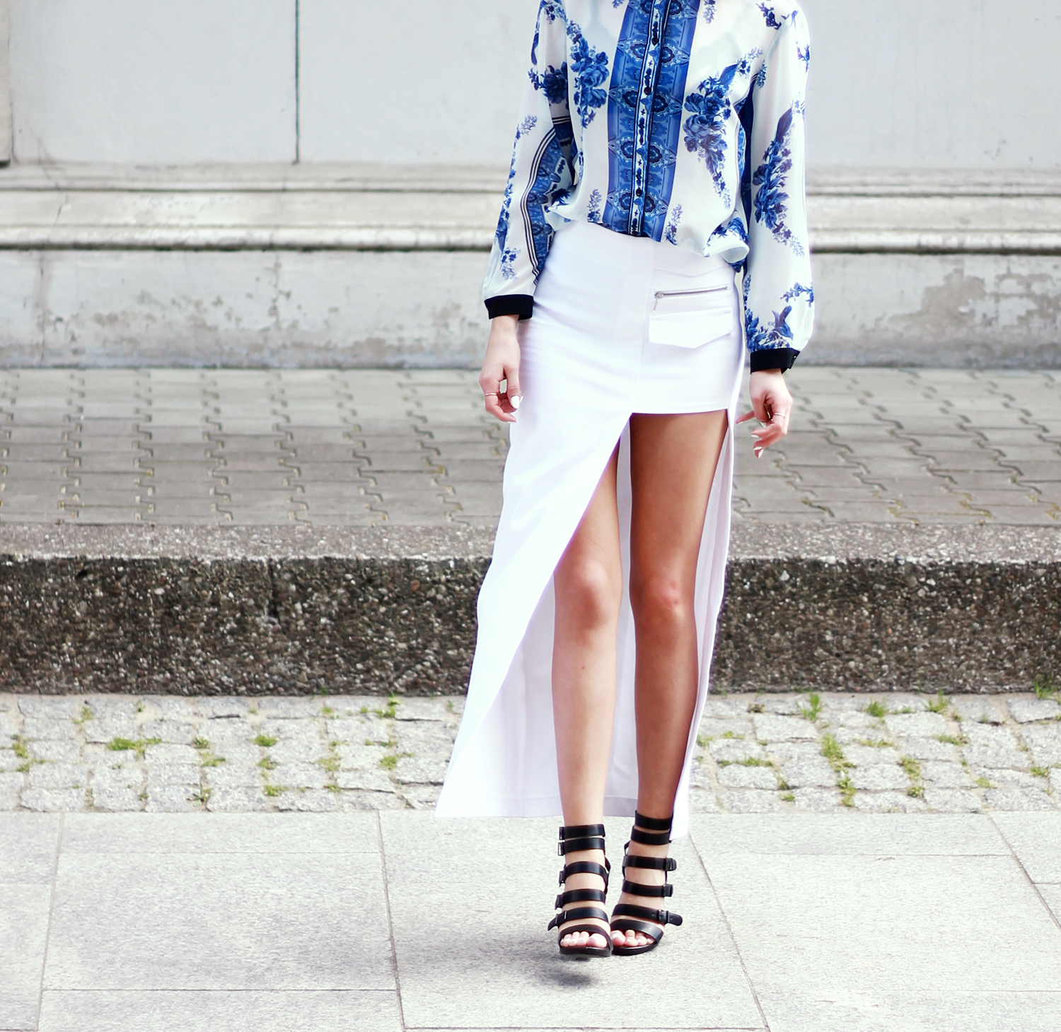 style blogger ootd look tumblr girl fashion trends lookbook chic mohito  topshop prada outfit what to