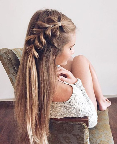 braids inspiration tumblr pinterest hairstyle side braid