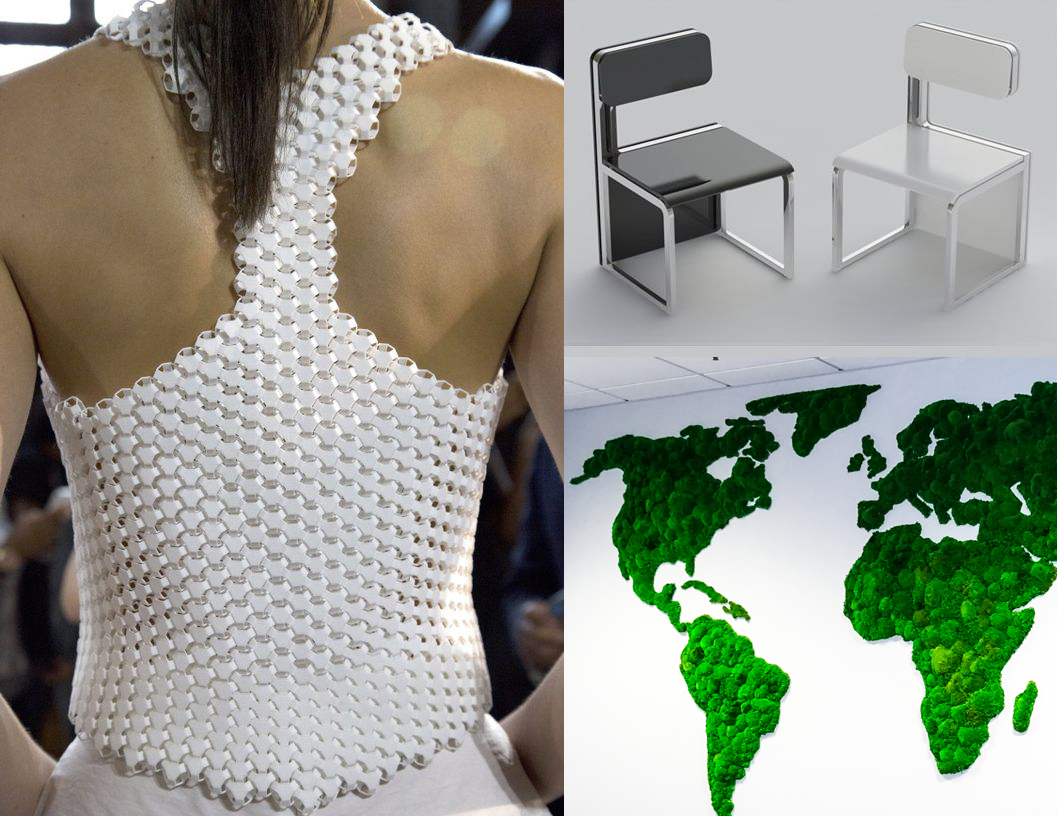 Life designing for the future space and fashion design for Space pattern clothing