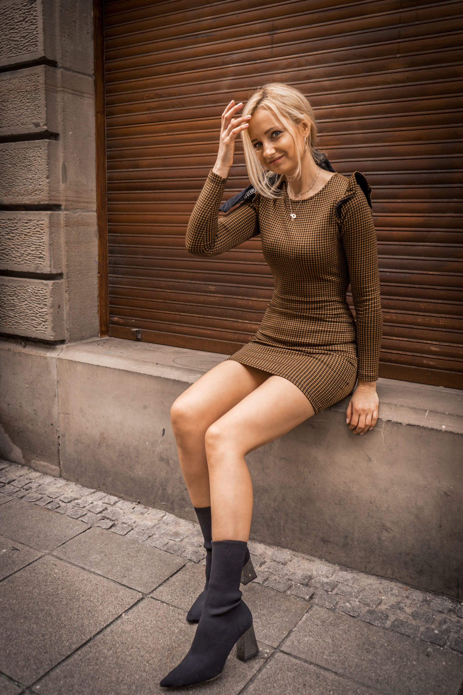 sexy dress with boots